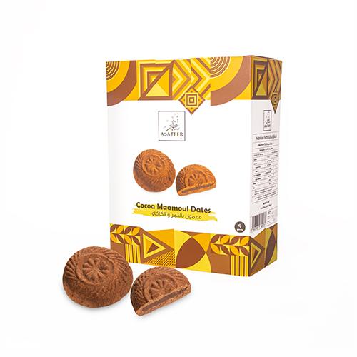 معمول بالتمر والكاكو | Maamoul Dates and Cacao